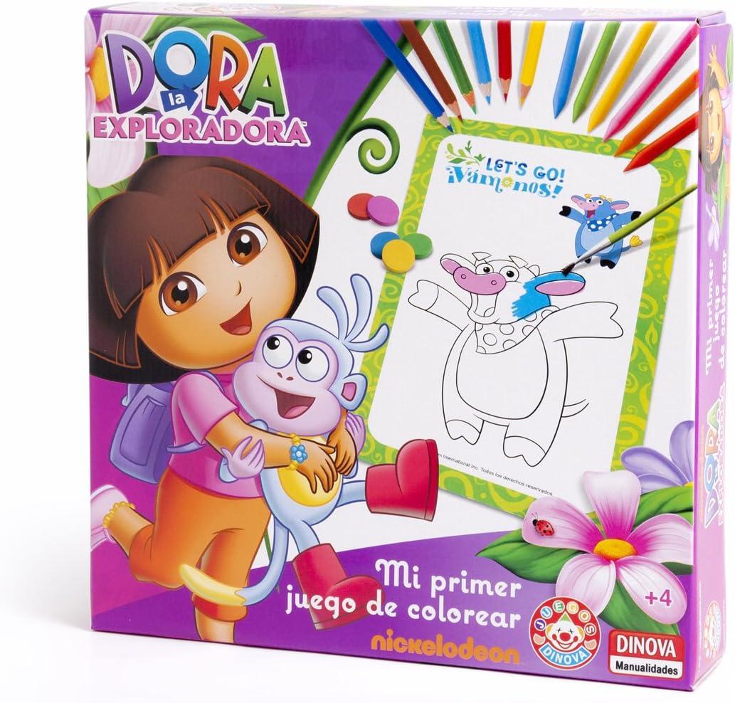 Nickelodeon - Dora La Exploradora, mi Primer Juego de Colorear ...