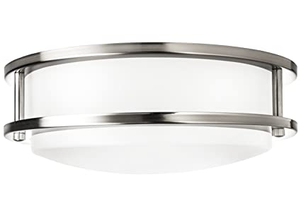Hyperikon led flush mount ceiling light 10 65w equivalent 1220lm 4000k