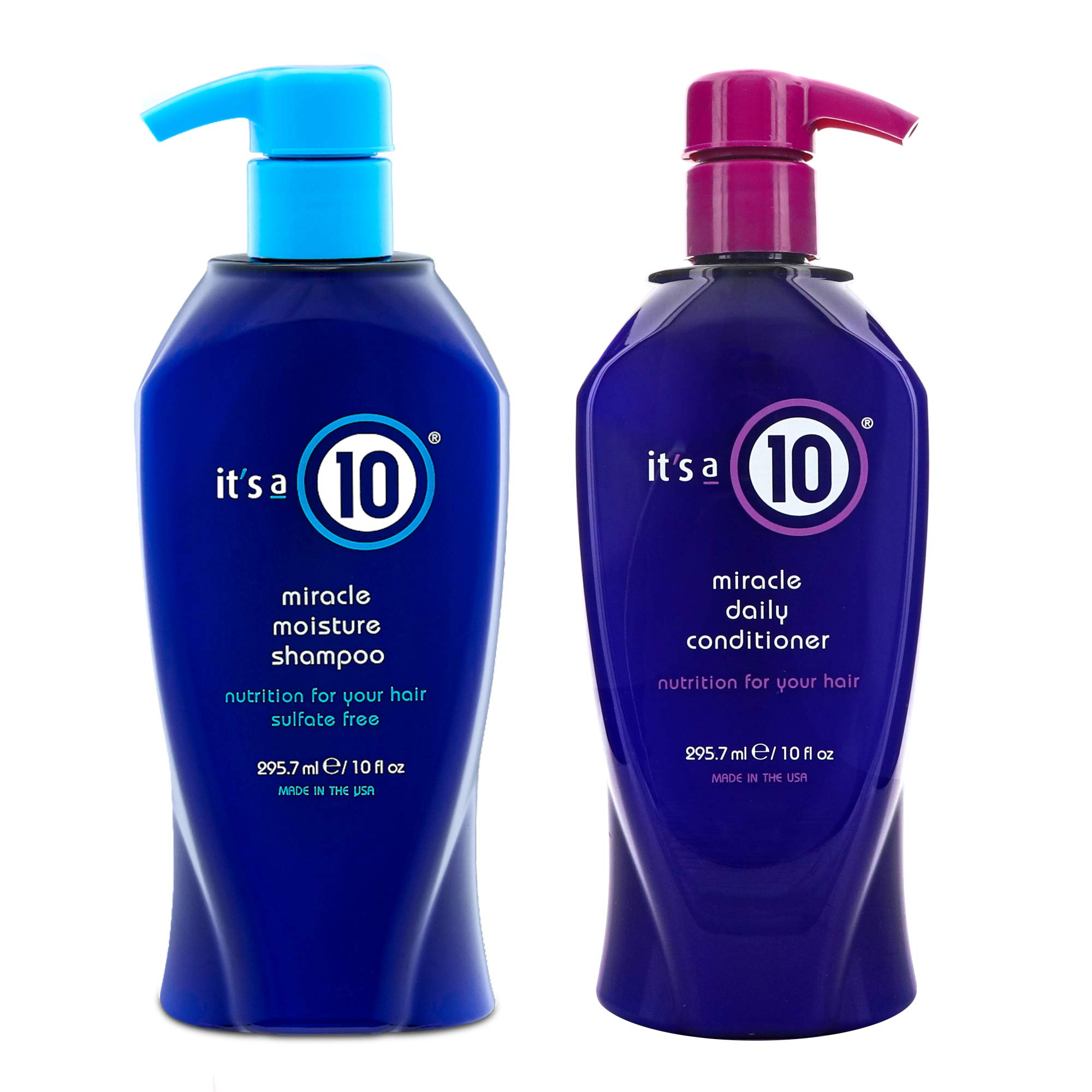 It's a 10 Miracle Daily 10 Oz. Shampoo and 10 Oz. Conditioner Combo Deal by It's a 10 Haircare