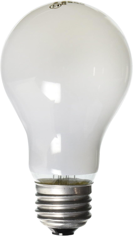 Westinghouse Lighting 0410000 25 Watt 130 Volt Frost Incand A19 Light Bulb 5000 Hour 205 Lumen 4 Pack 1 Incandescent Bulbs