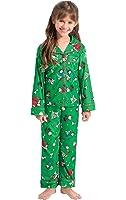 PajamaGram Girls' Charlie Brown Christmas Pajamas