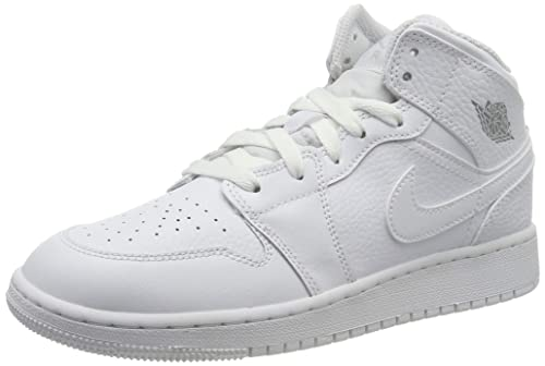 uk availability 8405e 30c40 Nike Air Jordan 1 Mid (GS), Scarpe da Basket Bambino  MainApps  Amazon.it  Scarpe  e borse