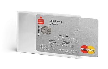 Durable Funda durable Hunke & Jochheim tarjeta de crédito RFID Secure, TR 3st transparente frontal