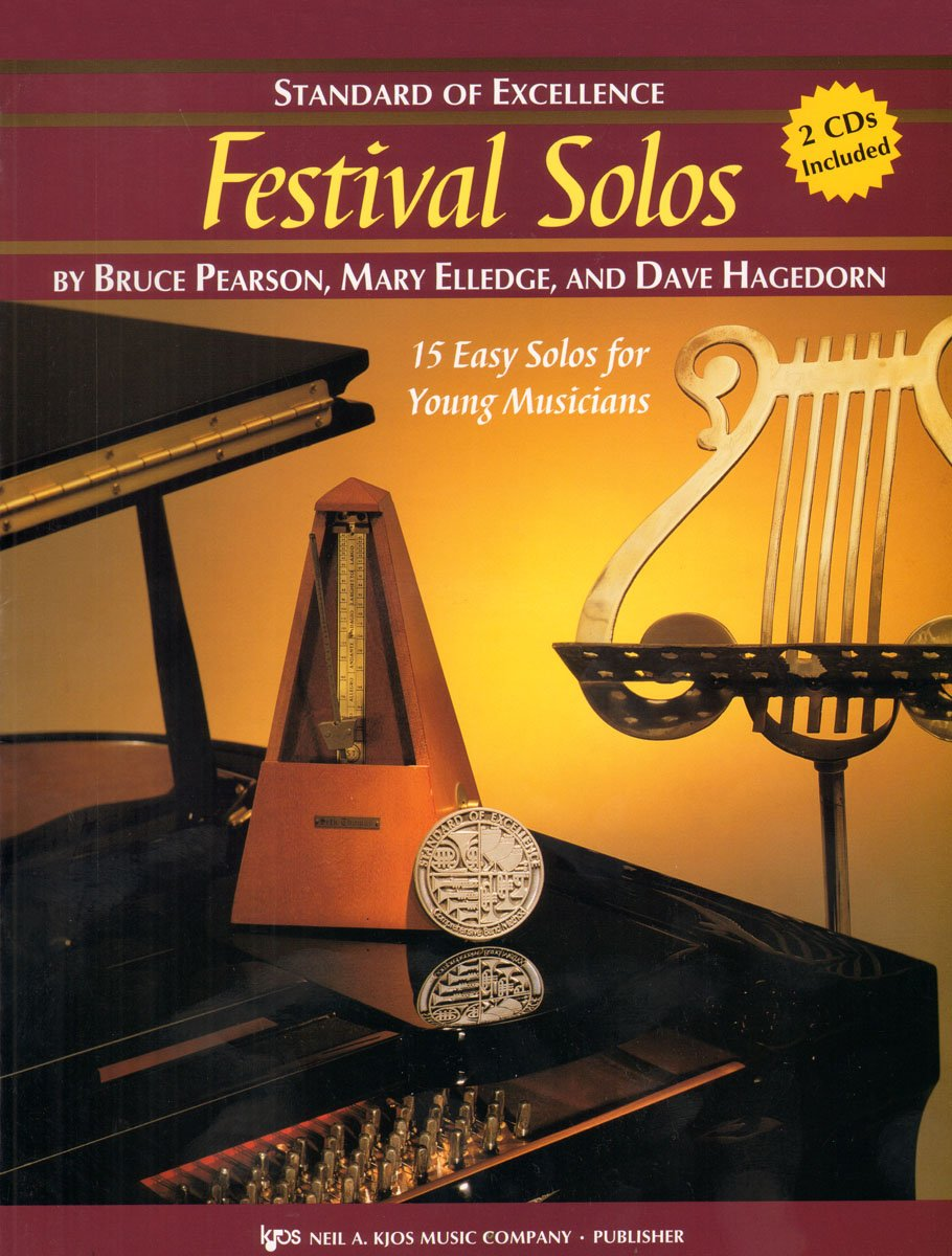 W28XB - Standard of Excellence - Festival Solos Book/CD - Tenor Saxophone