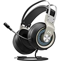 $26 Get Mpow Eg3(Series II) PC Gaming Headset 7.1 Surround Sound, PS4 USB Headset with Mic,…