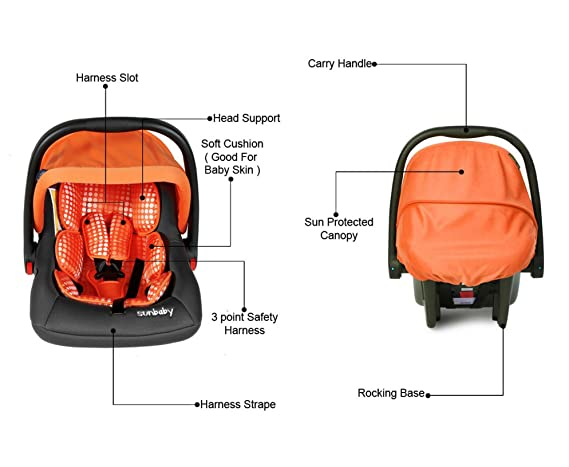 Sunbaby Car Seat Bubble (Orange)