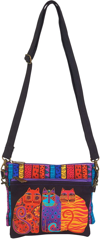 Laurel Burch 2 pc Crossbody Bag 6551