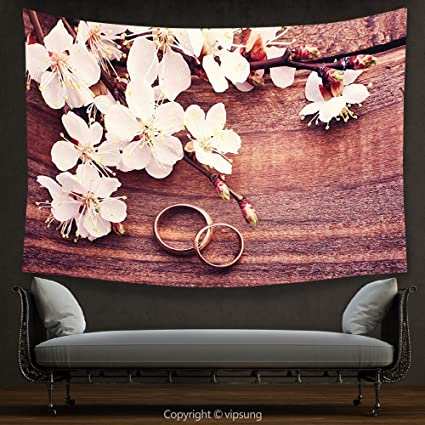 Amazon House Decor Tapestry Wedding Decorations By Flowering