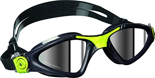 Aqua Sphere Kayenne Swim Goggles, Made in Italy