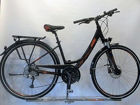 KTM Life Space Mujer einrohr bicicleta de trekking Negro Mate ...
