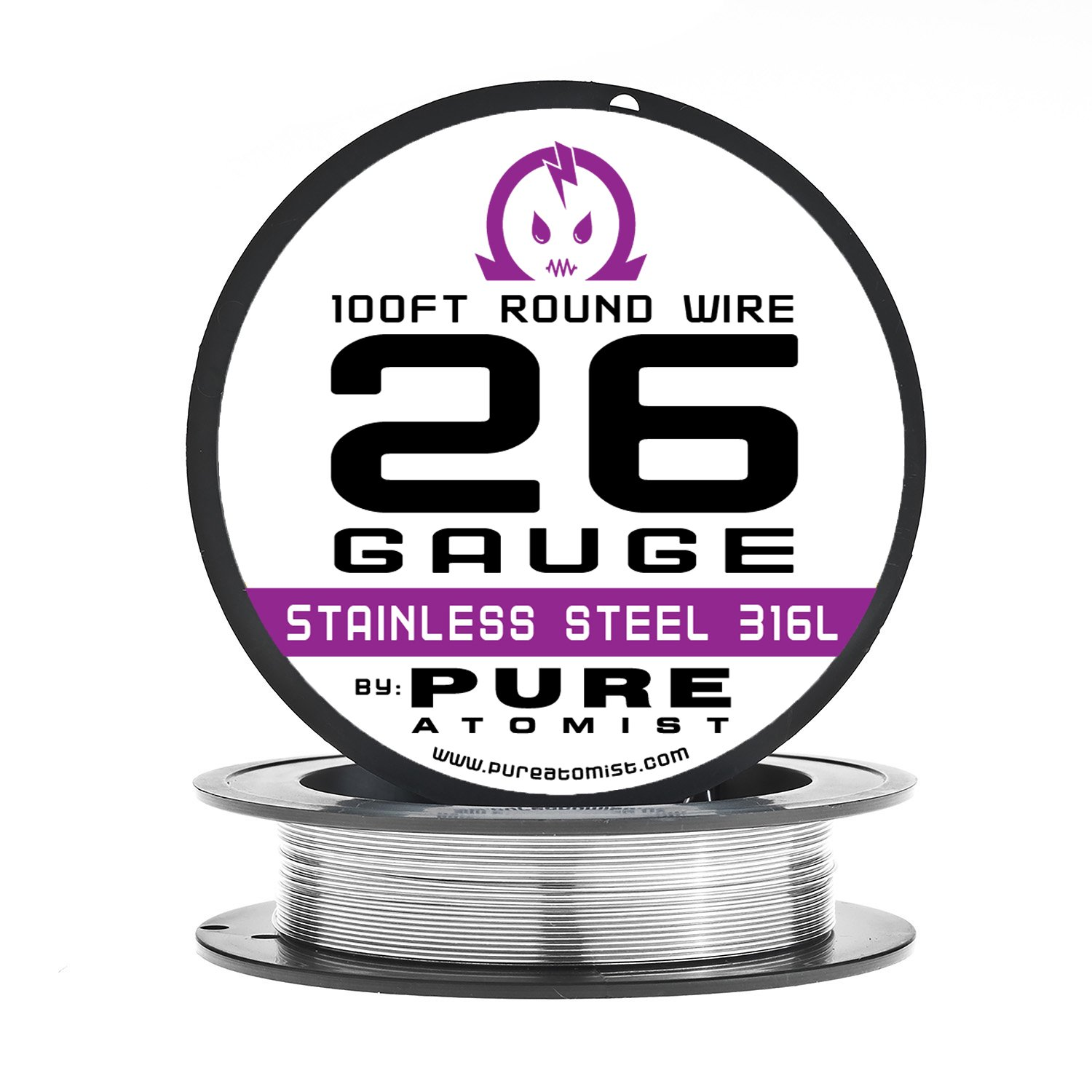 Amazon.com: 26g - Stainless Steel 316L Wire - 26 Gauge / 0.40mm ...