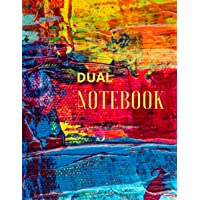 DUAL NOTEBOOK: Blank Lined Notebook for Schools and Teaching, Large (8.5 x 11 inches) - 120 page