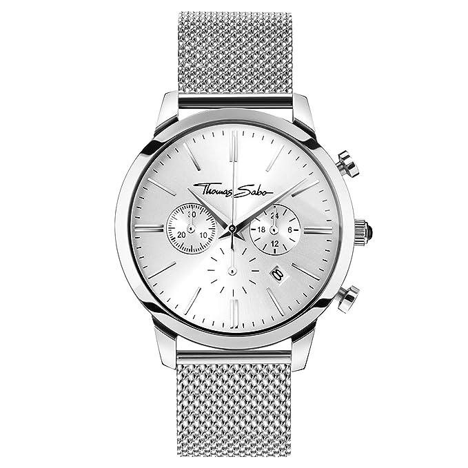 Thomas Sabo Herren Chronograph Edelstahl Armbanduhr Wa0245 201 Quarz hdsxBtQCr