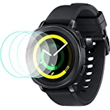 VICARA [3 pack] Compatible Samsung Galaxy Watch (46mm)Screen Protector,2.5D[9H Hardness][HD] Tempered Glass Screen Protector Scratch Resistant Anti-Bubble Compatible Samsung Galaxy Watch 46mm SM-R800/SM-R805 Smart Watch