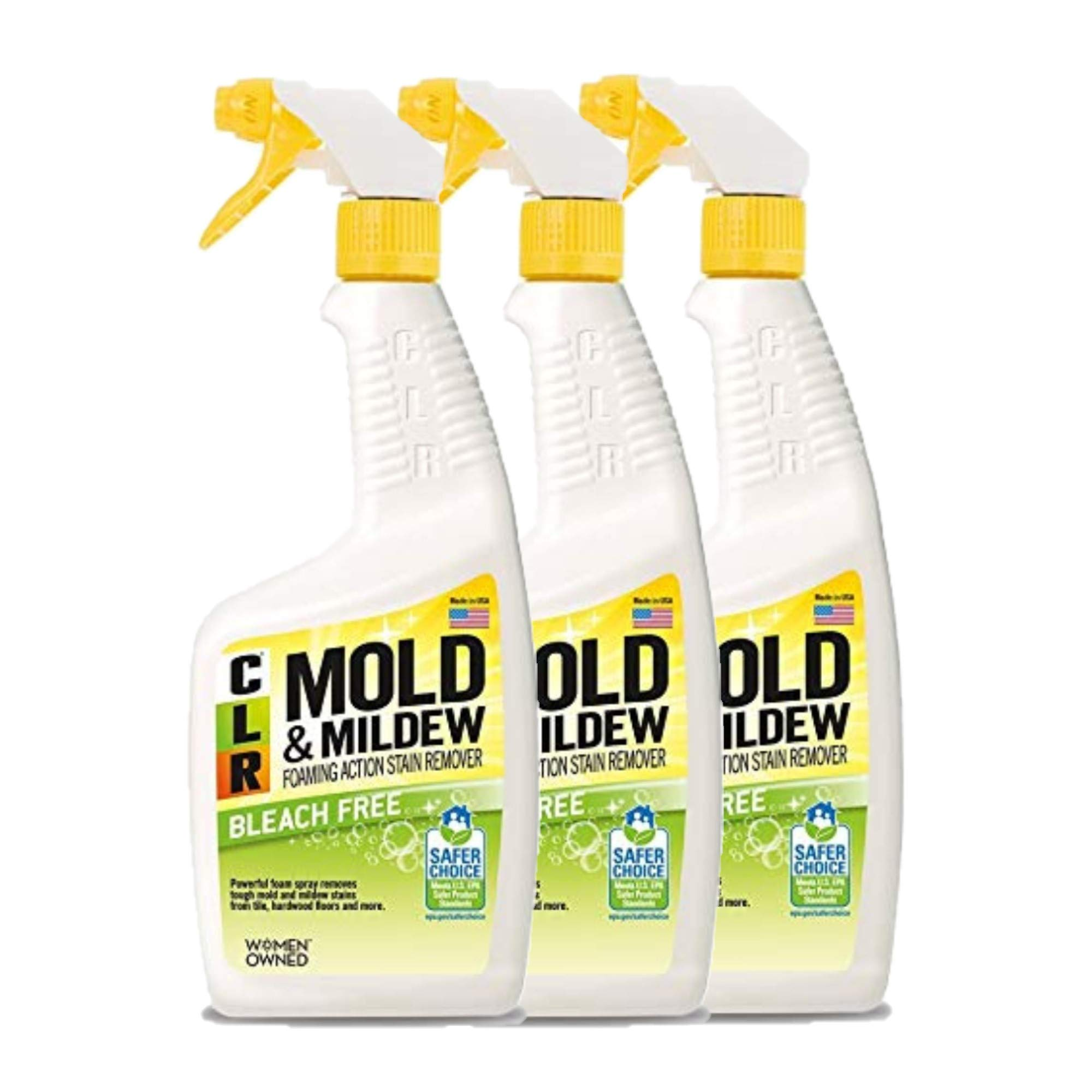 CLR PB-CMM-6 Mold and Mildew Stain Remover, 32 oz. Spray Bottle (3)