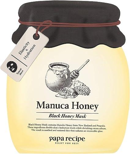 Papa Recipe Bombee Honey Black Mask 5 Pack, Mascarilla Facial 5 ...