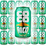 Coco Rico Coconut Soda, 12oz Can (Pack of 18, Total of 216 Fl Oz)
