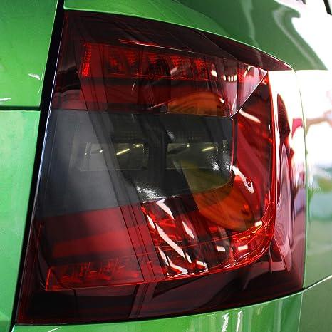 Finest Folia Rückleuchten Folien Set Scheinwerfer Aufkleber Tönungsfolie Passgenau Dark Grey C033 Kombi Facelift Auto