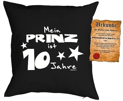 regalo para niños Cojín con relleno y Escrituras Mi Príncipe ...