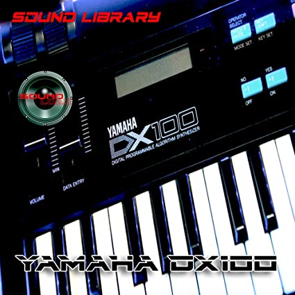 YAMAHA DX100 HUGE Original Factory /& New Created Sound Library//Editors on CD