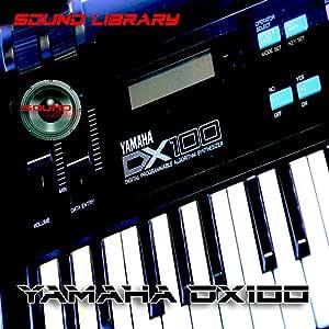 Yamaha DX-100 gran sonido Biblioteca y editores en CD