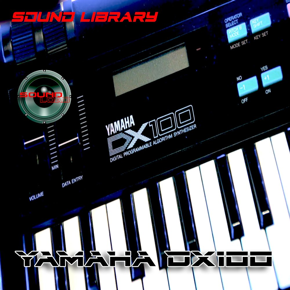 YAMAHA DX-100 Huge Sound Library & Editors on CD