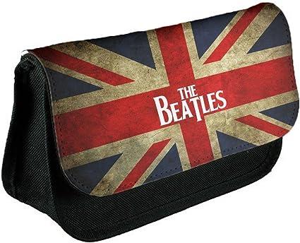 Abstracto 191, The Beatles, Negro Escuela Niños Sublimación Alta calidad Poliéster Estuche de lápices con Diseño Colorido. 21x13 cm.: Amazon.es: Oficina y papelería