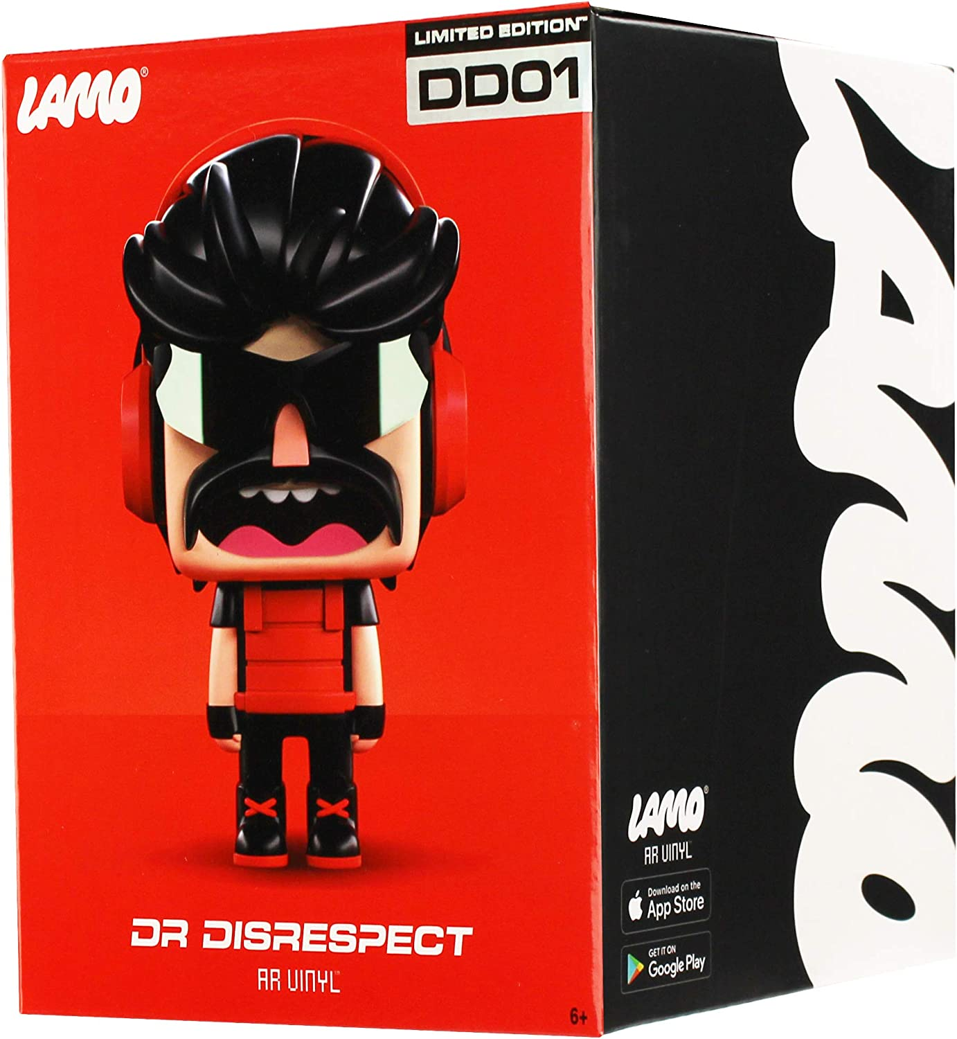 Dr respect Lamo AR Limited Edition Vinyl Figure DD01 Wicked Cool Toys NEW IN BOX