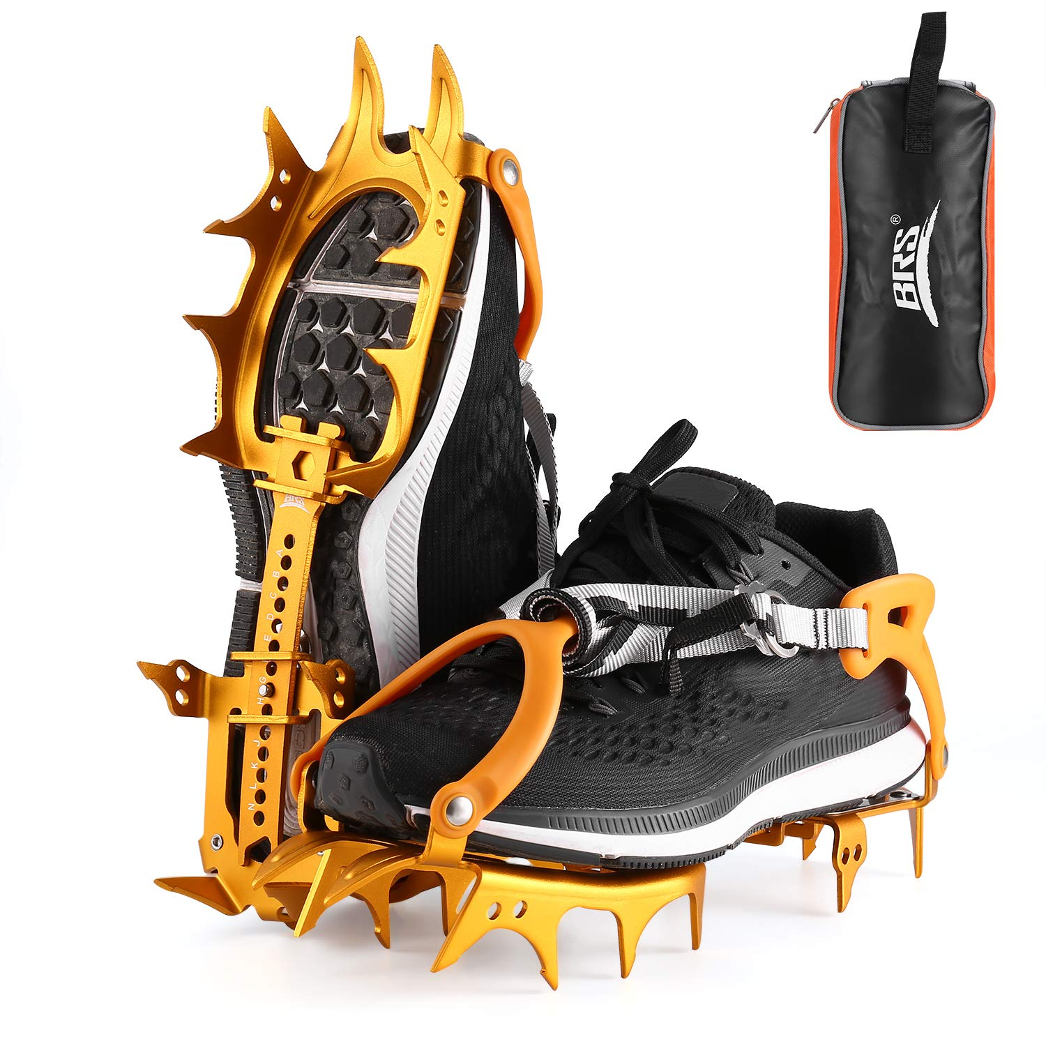 OUTAD Traction Cleats/Crampon for Snow and Ice