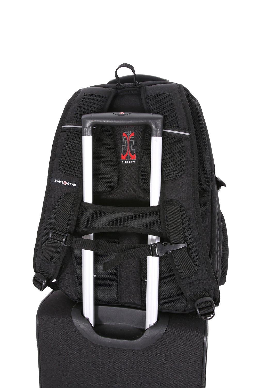 Amazon.com: SwissGear SA6752.Black TSA Friendly ScanSmart Laptop Backpack, Fits Most 18