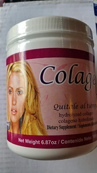 Colageno en Polvo / Collagen in powder Hydrolyzed Supplement With Vitamin E