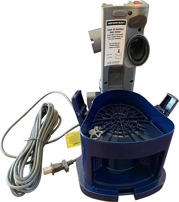 ENBIZIO Genuine Shark Vacuum Replacement Parts for Shark Upright Navigator Lift Away NV360 - Dust Bin Canister Holder/Base Motor