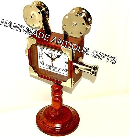 Amazon.com: Estilo clásico HOLLYWOOD – Reloj proyector con ...