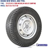 spare wheel and tyre for fiat ducato and autotrail motorhome 15 wheel fitted with 215 70 r15. Black Bedroom Furniture Sets. Home Design Ideas