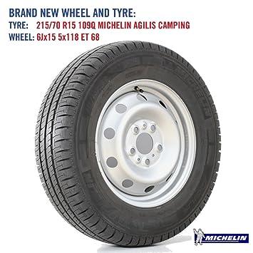 Rueda de repuesto y Michelin AGILIS neumático para Fiat Ducato y de acampada/Camping Caravana