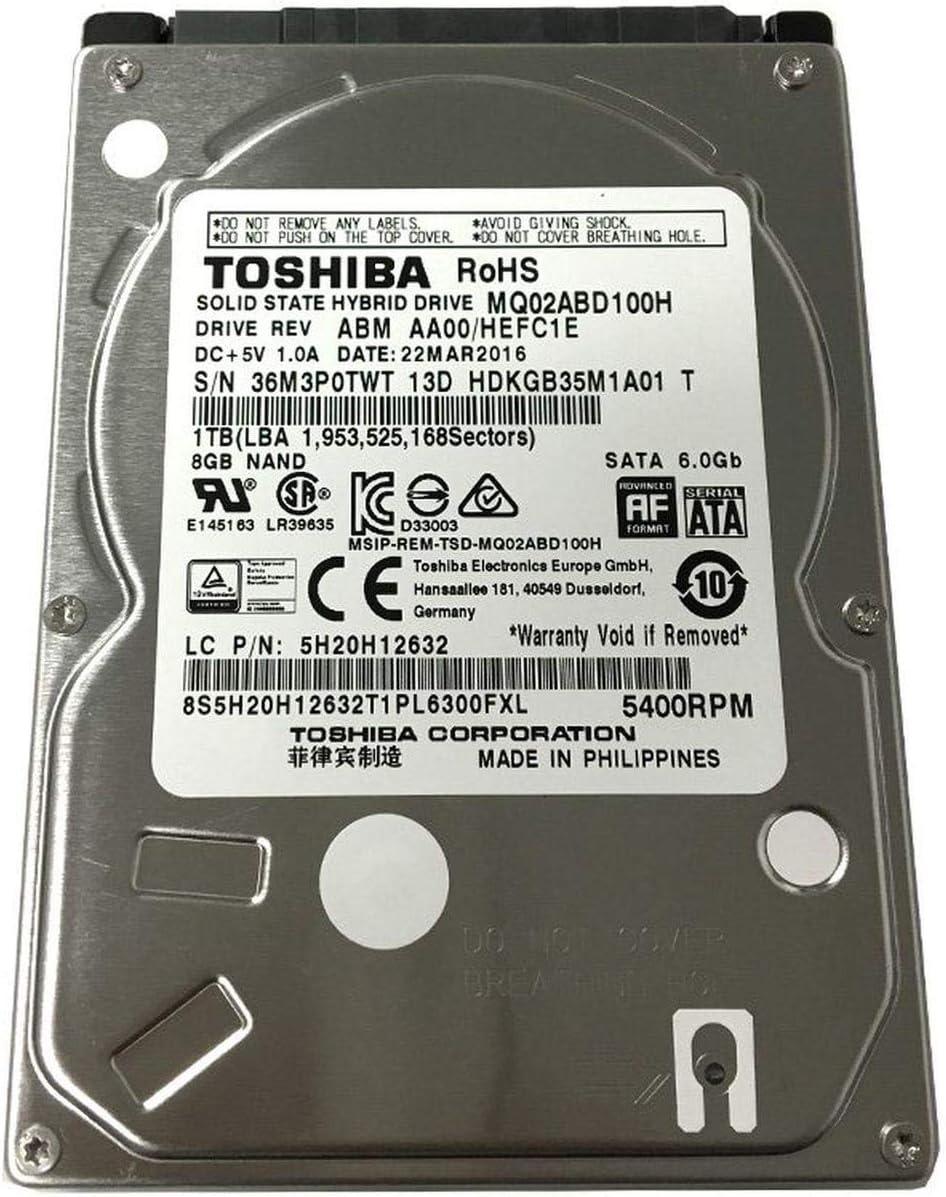 Toshiba MQ01ABD100H - Disco Duro Interno de 1 TB (Serial ATA III ...