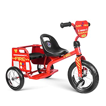 Besrey Tricycle Double Taxi Taxi Children S Taxi Tricycle Pedal Vehicle Children S Bicycle 2 Seats For Twins Siblings Baby