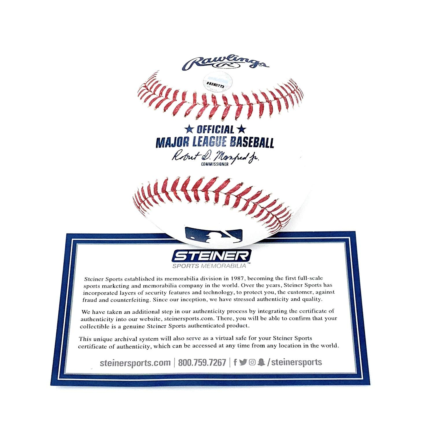 Alex Bregman Houston Astros Signed Autograph Official MLB Baseball Steiner Sports Certified