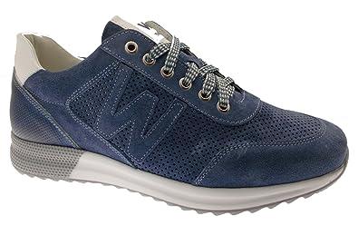 Les Bleu Walk 100Cuir Melluso Sneakers kOZwXiuTPl