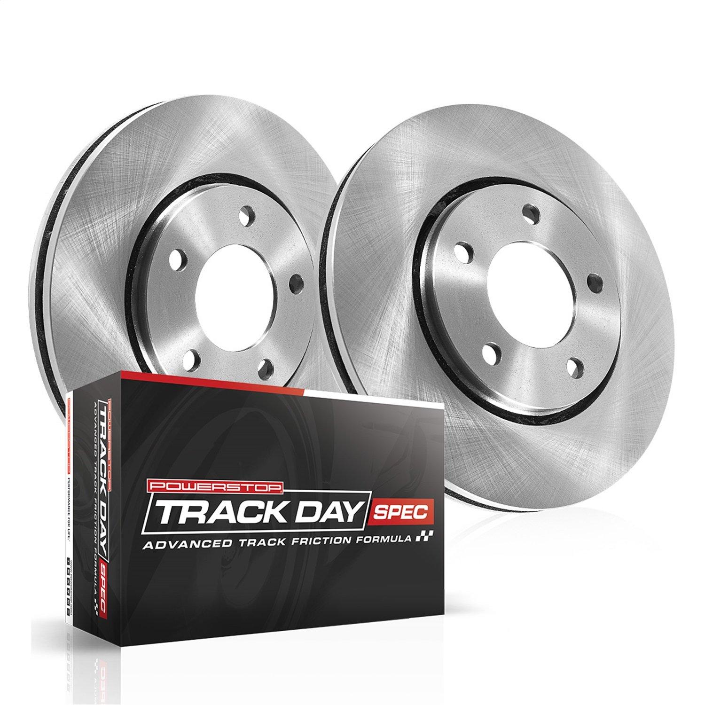 Power Stop TDSK1124 Front Track Day Spec Brake Kit