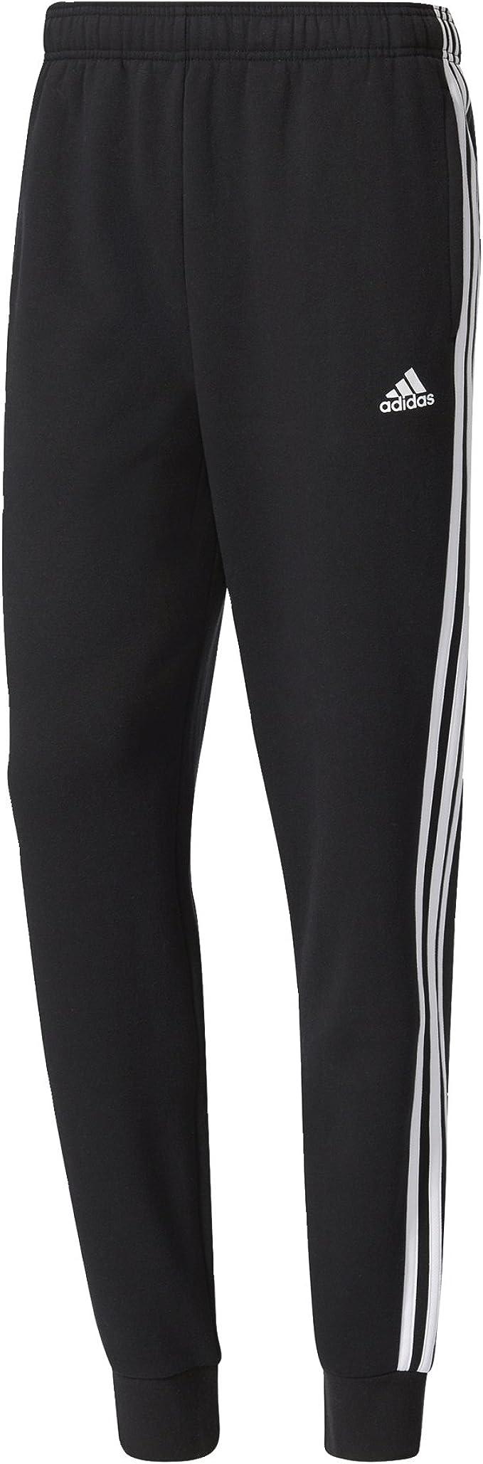 adidas Herren Hose Essentials 3-Stripes Tapered Cuffed Fleece