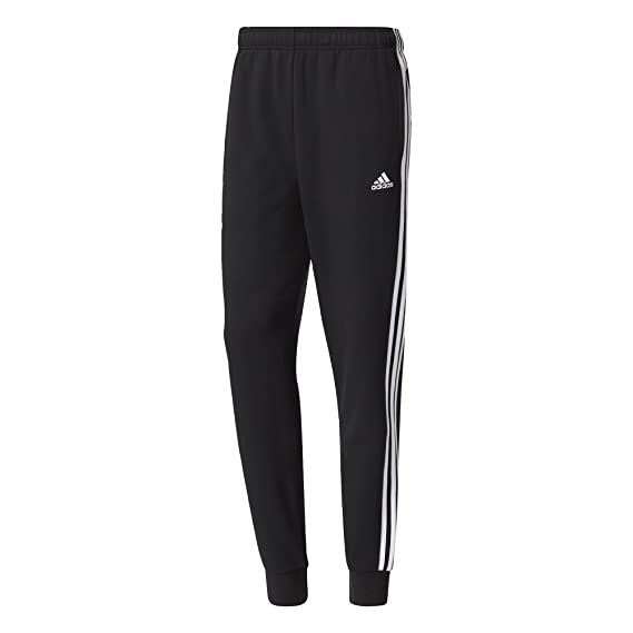 adidas Essentials 3 Streifen Tapered Cuffed Sweathose