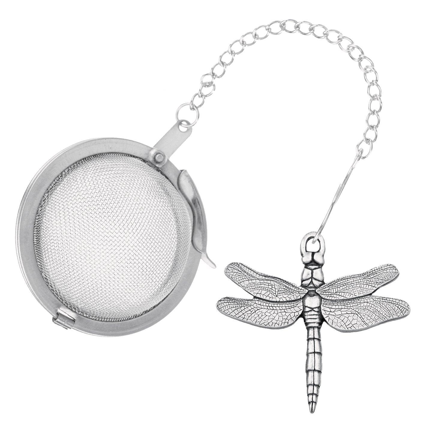 Danforth - Dragonfly Pewter Tea Infuser