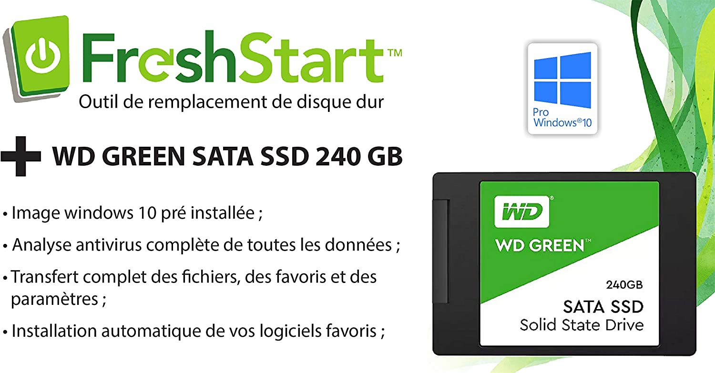 SSD Freshstart para PC (Salida de Win 7): Disco Duro SSD 240 GB ...