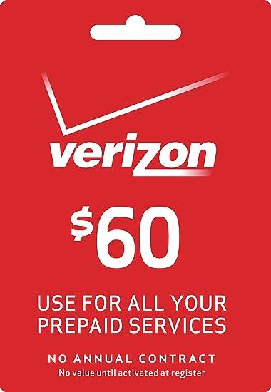 Amazon.com: Verizon 60 Dólares A Go o Mensual tarjeta de ...