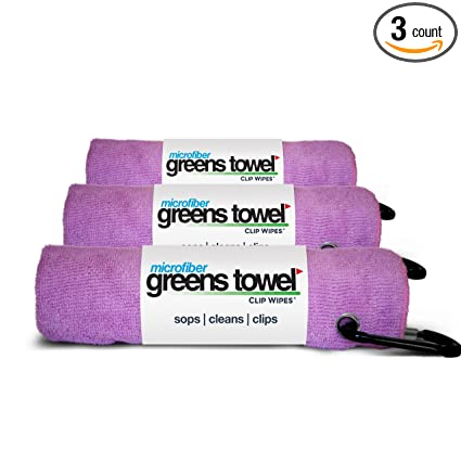 92eb66e80db61 Amazon.com   3 Pack of Pink Microfiber Golf Towels   Sports   Outdoors