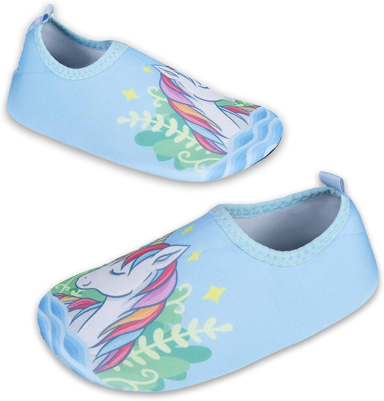 Kinder Badeschuhe Wasserschuhe Strandschuhe M/ädchen Junge Schwimmschuhe Barfu/ßschuhe rutschfeste Surfschuhe Sportschuhe Kleinkind Schwimmbad