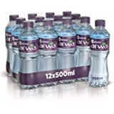 Arwa Alkaline Drinking Water in Pet Bottle, 500 ml (Pack of 12)