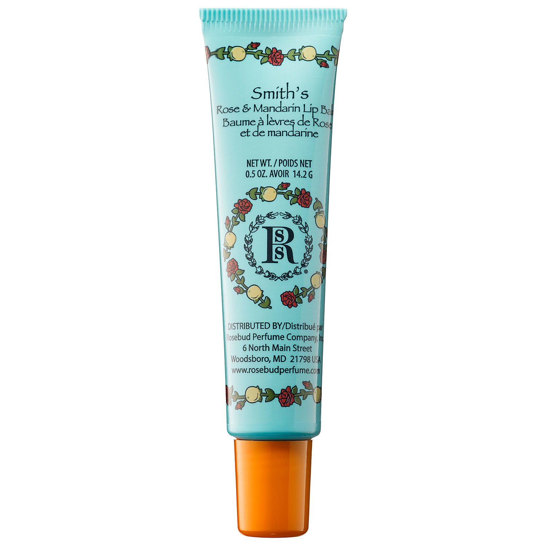 Rosebud Perfume Co. 1678663 Mandarin and Rose Lip Balm Tube 0.5 oz
