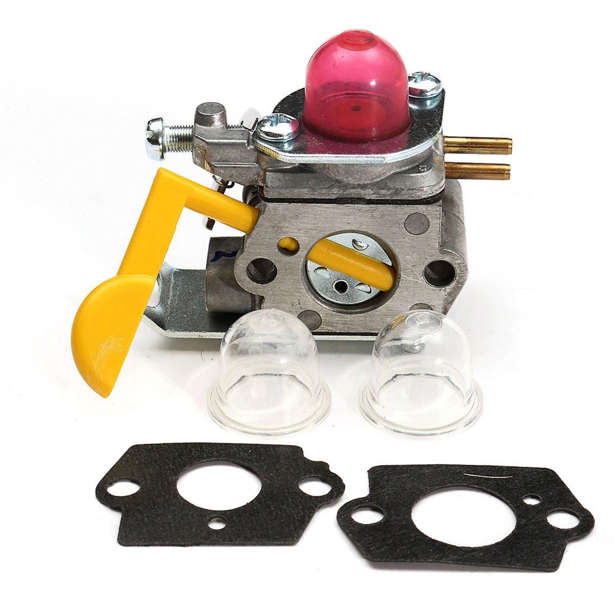 carburetor for poulan craftsman weedeater zama c1u-w18 530071752